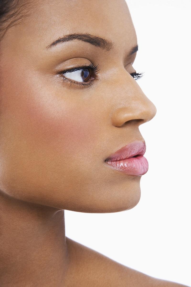twarz pięknej kobiety